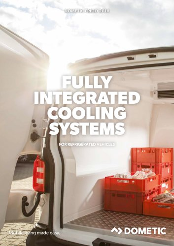 Dometic Frigo – Fully integrated cooling systems for refrigerated vehicles