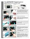 AUTOLITH® Touch Quick Reference Guide