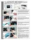 AUTOLITH® URO-Touch Quick Reference Guide