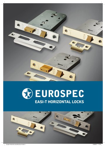 horizontal locks brochure