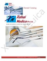 Xohai Medica Dental Catalogue - 1