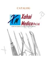 Xohai Medica Surgical Catalogue - 1