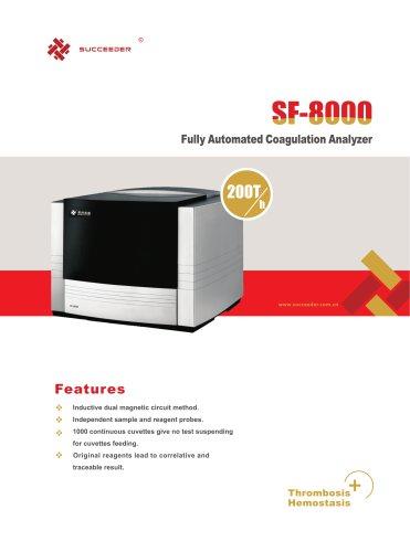 Fully Automated Coagulation Analyzer SF-8000