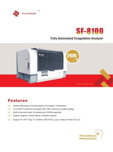 Fully Automated Coagulation Analyzer SF-8100