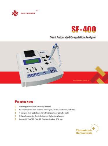 Semi Automated Coagulation Analyzer SF-400