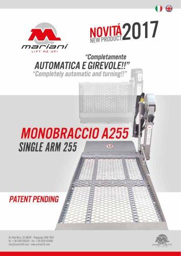 MONOBRACCIO A255