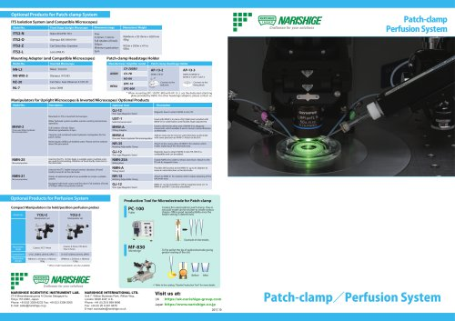 Patch-clamp Perfusion System