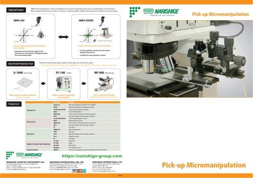 Pick-up Micromanipulation