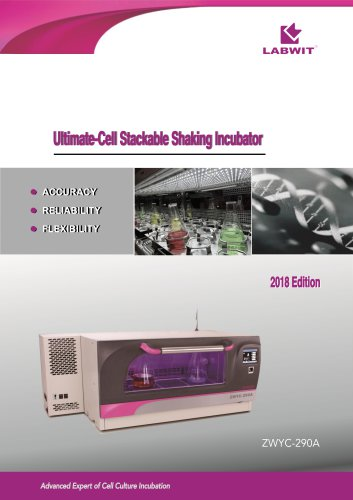 Ultimate-Cell Stackable Shaking Incubator V2018
