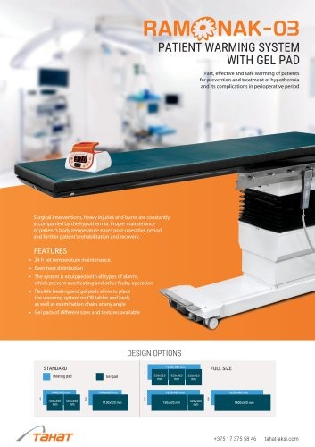 Ramonak-03 Patient Warming System