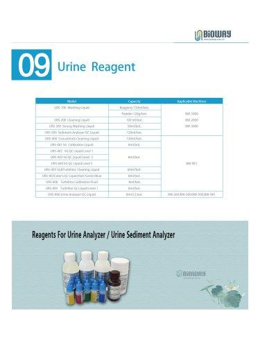 Urine Sediment Analyzer Reagents