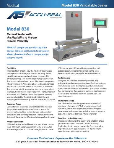 Model 830