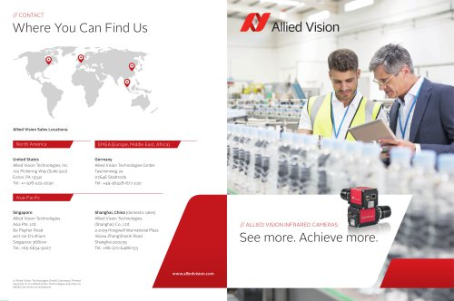 Allied Vision Infrared Camera