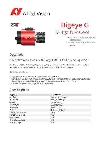 Bigeye G-132 NIR Cool