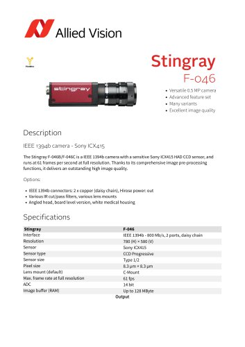Stingray F-046