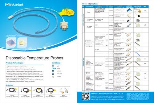 Disposable Temperature Probes(2019)