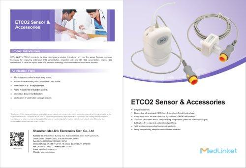 ETCO2 Sensor & Accessories 2020
