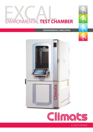 EXCAL ENVIRONMENTAL TEST CHAMBER