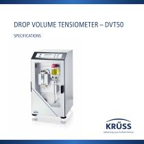 DROP VOLUME TENSIOMETER – DVT50