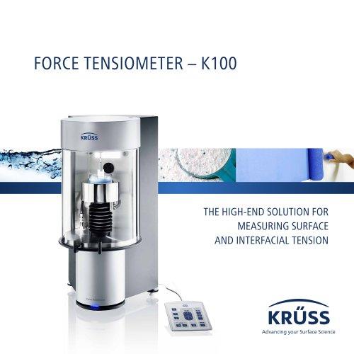 FORCE TENSIOMETER – K100