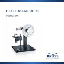 FORCE TENSIOMETER – K6