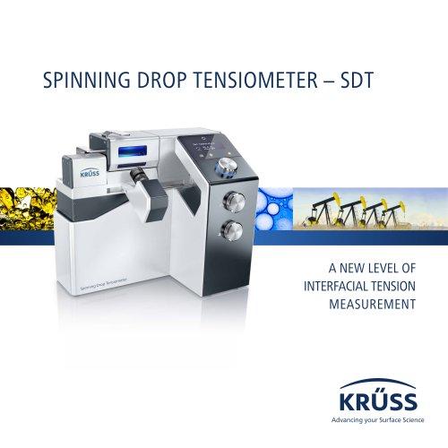 SPINNING DROP TENSIOMETER – SDT