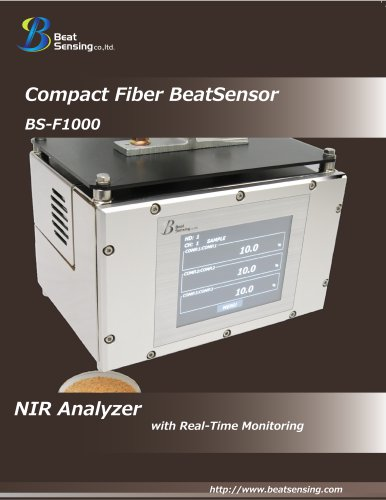 BSF1000 Process Fiber-Optic Composition Analyzer