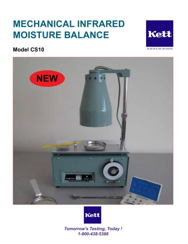 CS10 Mechanical Moisture Balance