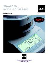 FD720 Advanced Moisture Balance - 1