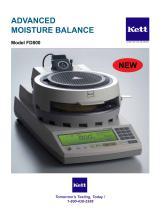 FD800 Dual Temperature Control Moisture Balance - 1