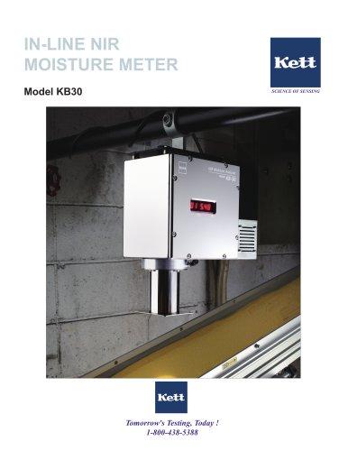 KB30 On-Line Moisture Meter