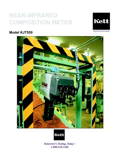 NEAR-INFRARED COMPOSITION METER Model KJT550