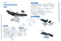 Catalog Hydraulic Surgical Table TS