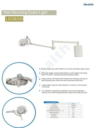 Catalog-LEDB200 Wall Mount Exam Light