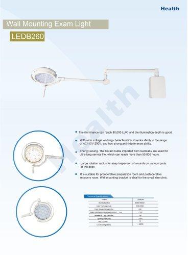 Catalog-LEDB260 Wall Mount Exam Light