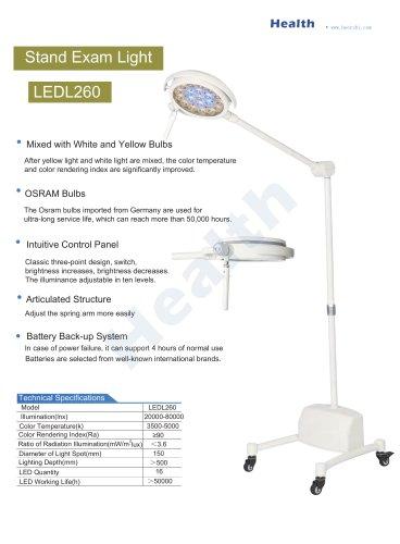 Catalog-LEDL260 Mobile Exam Light