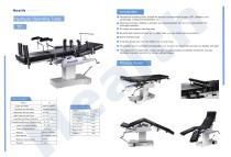 Catalog Manual Operating Table TY