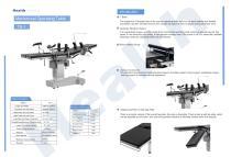 Catalog Mechanical Operating Table TS-1