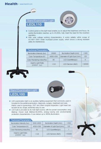 Health-Flexible Examination Light-LEDL110 &LEDL100-Outpatient