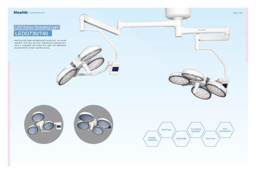 Health-LED Petal Type Operating Light-LEDD730/740-Hospital