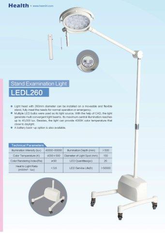 Health-Mobile Examination Light-LEDL260-Clinic