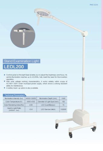 Health-Stand Type Examination Light-LEDL200-Clinic
