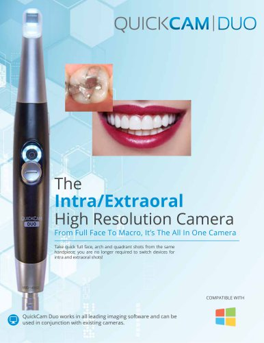 The Intra/Extraoral High Resolution Camera