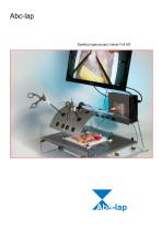 Abc-lap Desktop laparoscopic trainer Full HD