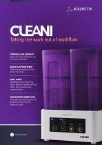 CLEANI Dual Alcohol Washer Brochure