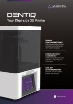 DENTIQ 3D Printer Brochure