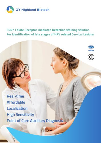 Folate Receptor-mediated Detection (FRD™)