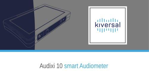 Product presentation: Audixi 10 smart audiometer