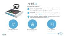 Product presentation: Audixi 10 smart audiometer - 4