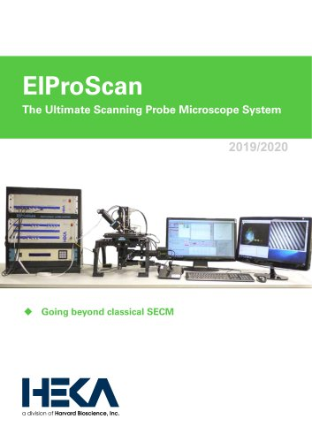 ElProScan The Ultimate Scanning Probe Microscope System